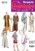 4213 Simplicity Pattern: Adult Costumes